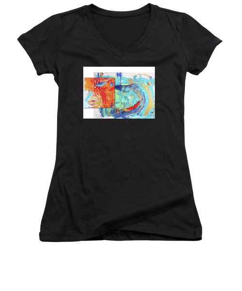 Shine From Within Women's V-Neck (Athletic Fit)