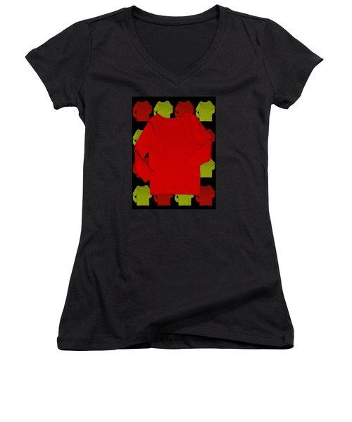 Shirts Women's V-Neck T-Shirt (Junior Cut) by Bob Pardue