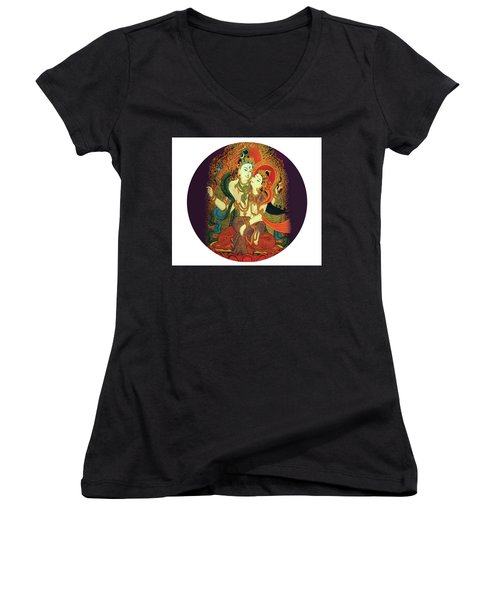 Shiva Shakti Women's V-Neck