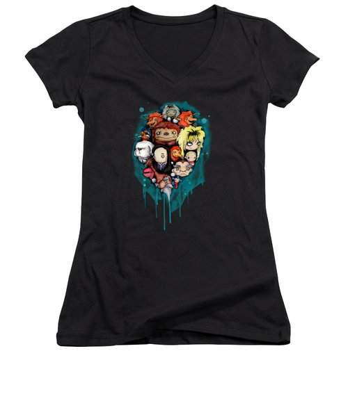 Should You Need Us 2.0 Women's V-Neck (Athletic Fit)