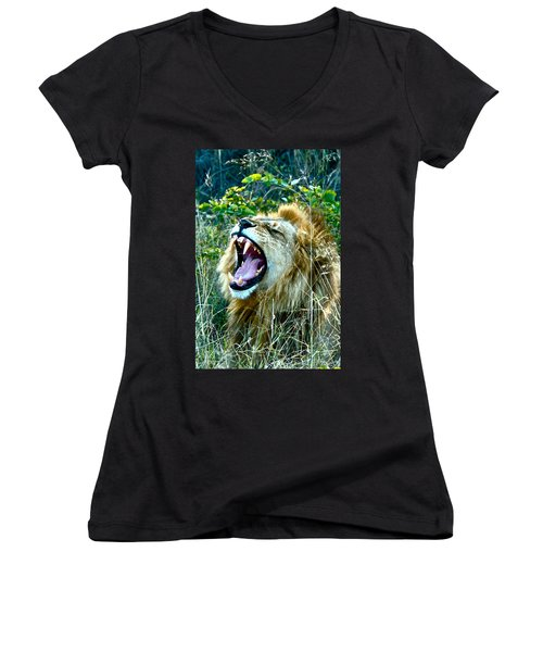 Show Me Your Teeth Women's V-Neck