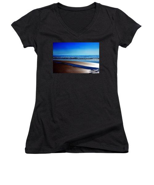 Silent Sylt Women's V-Neck T-Shirt