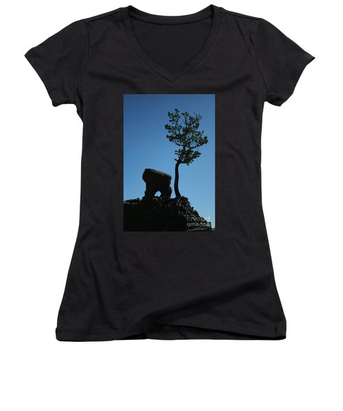 Silhouette Women's V-Neck