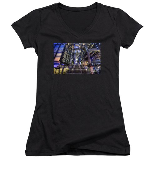 Silk And Steel 1.0 Women's V-Neck T-Shirt