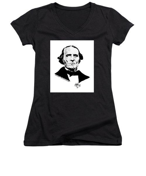 Simon Plamondon Women's V-Neck T-Shirt