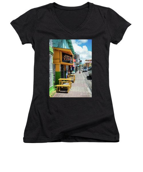 Simple Street View Women's V-Neck
