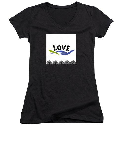Simply Love Women's V-Neck T-Shirt