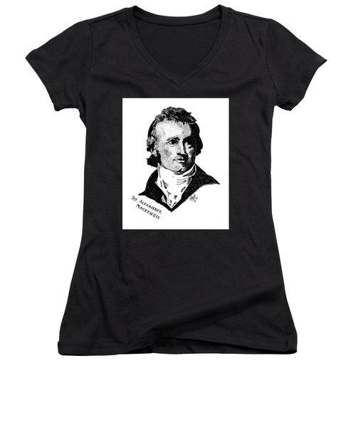 Sir Alexander Mackenzie Women's V-Neck T-Shirt