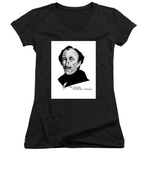 Sir William Drummond Stewert Women's V-Neck T-Shirt