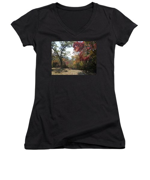 Smokies 12 Women's V-Neck (Athletic Fit)