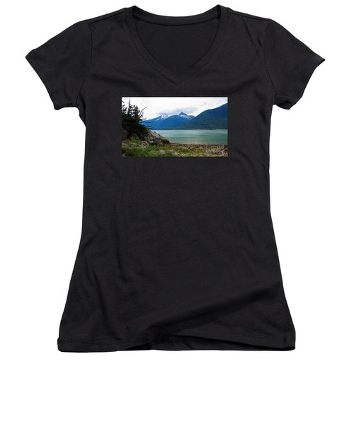 Smugglers Cove Women's V-Neck T-Shirt