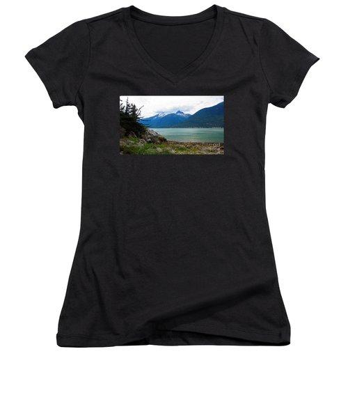Smugglers Cove Women's V-Neck T-Shirt