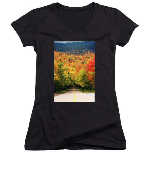 Smuggler's Notch Women's V-Neck (Athletic Fit)