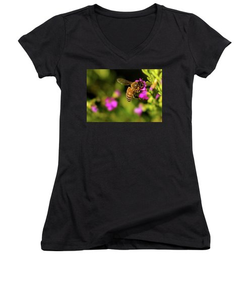 So Many Flowers... Women's V-Neck T-Shirt