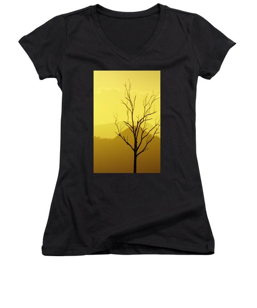Solitude Women's V-Neck
