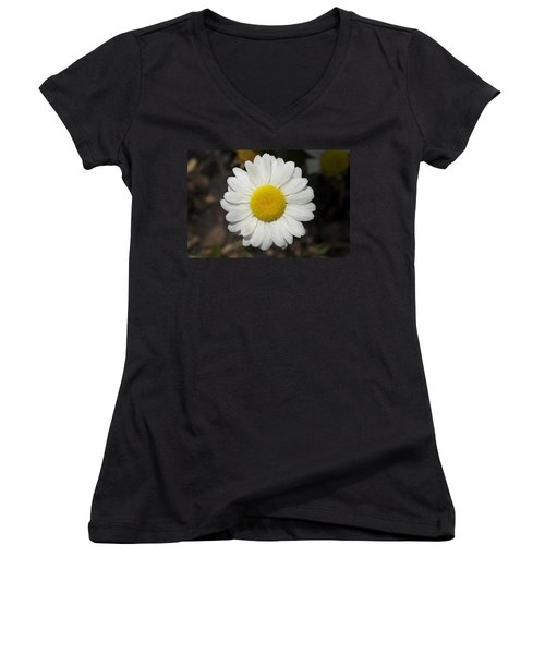 Solo Daisy Women's V-Neck T-Shirt
