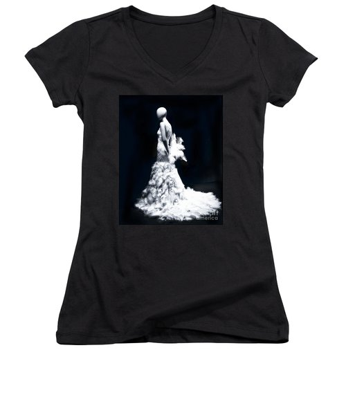 Some Day My Prince Will Come Women's V-Neck