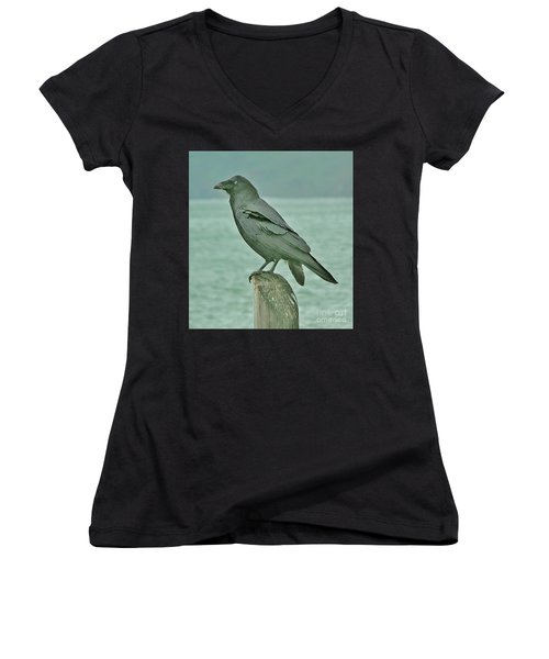 Something To Crow About Women's V-Neck