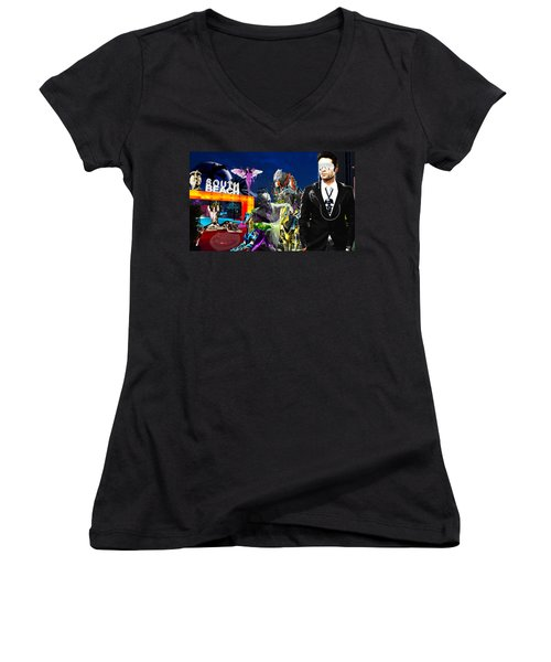 South Beach Women's V-Neck T-Shirt