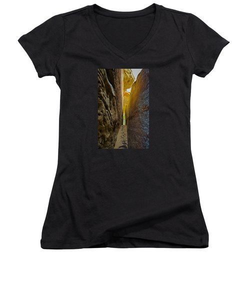 South Of Pryors 8 Women's V-Neck (Athletic Fit)