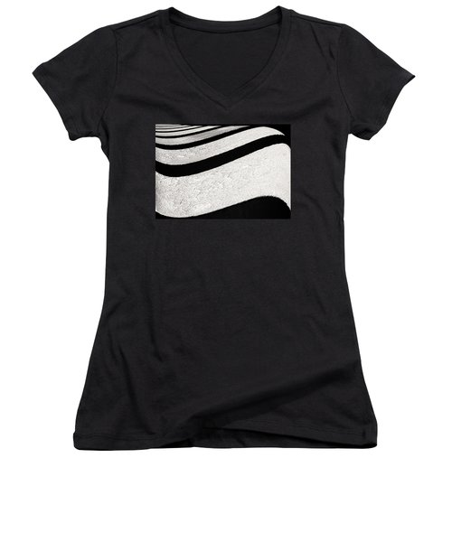 Space Geometry #16 Women's V-Neck (Athletic Fit)