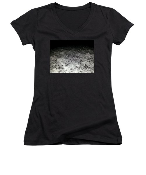 Women's V-Neck featuring the photograph Sparkling Darkness by Robert Knight
