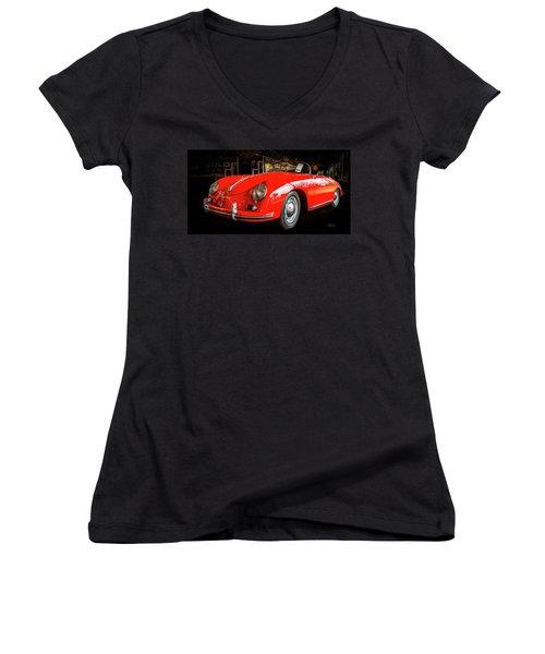 Speedster Women's V-Neck T-Shirt