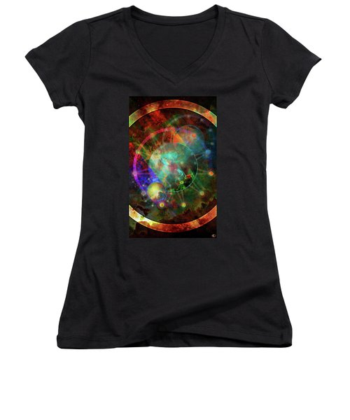 Sphere Of The Unknown Women's V-Neck