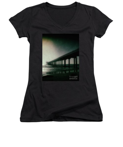 Spotlight On Scripps Women's V-Neck T-Shirt