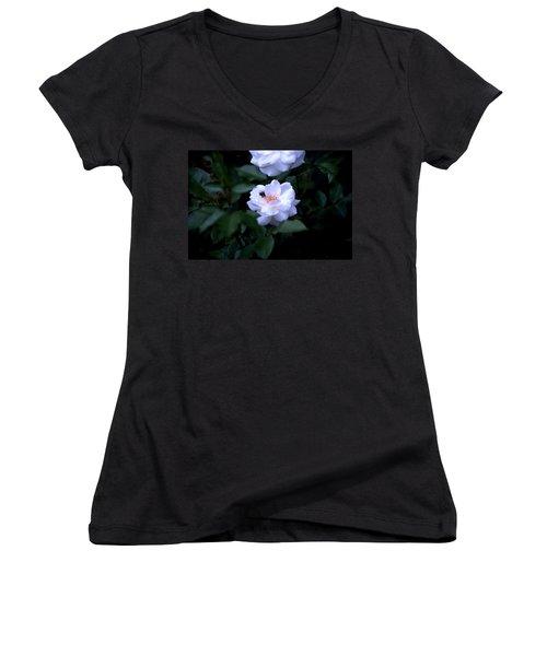 Spring 2016 28 Women's V-Neck T-Shirt (Junior Cut) by Cendrine Marrouat