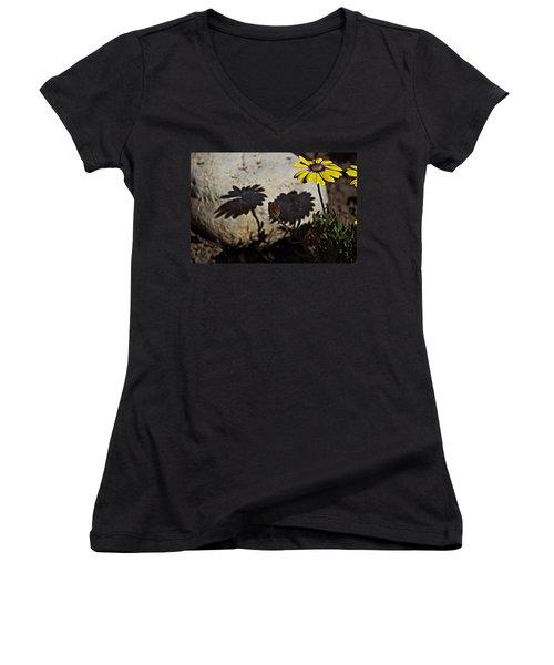 Spring 2016 31 Women's V-Neck T-Shirt (Junior Cut) by Cendrine Marrouat