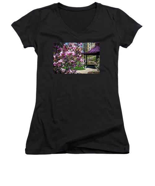 Spring Garden Women's V-Neck T-Shirt