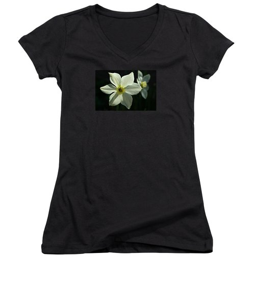 Spring Perennial Women's V-Neck (Athletic Fit)