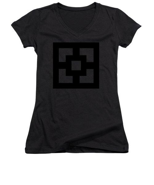 Squares Women's V-Neck