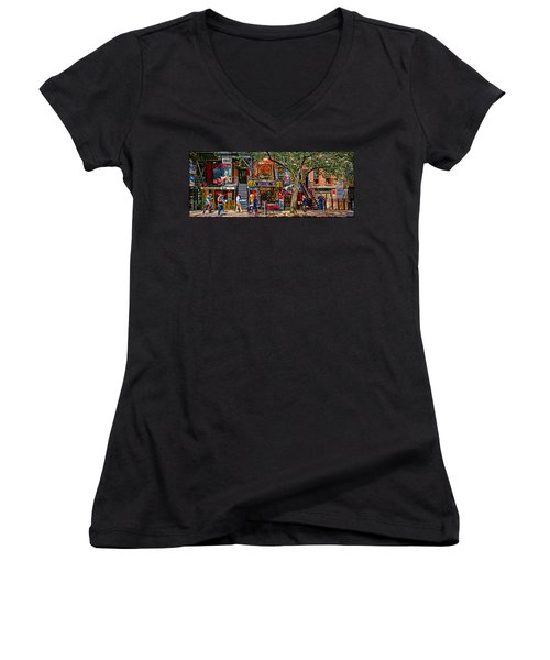 St Marks Place Women's V-Neck T-Shirt