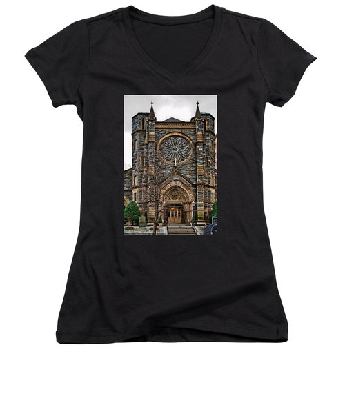 St. Patrick's Church Women's V-Neck