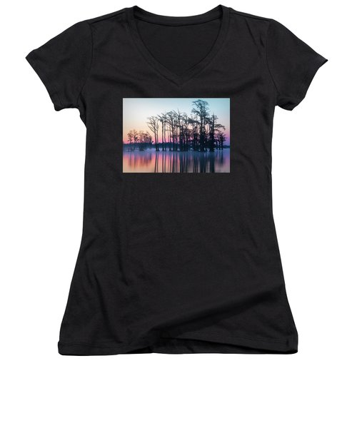 St. Patrick's Day Sunrise Women's V-Neck