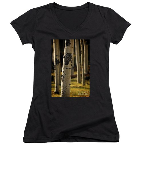 Standing Out Amongst The Others Women's V-Neck