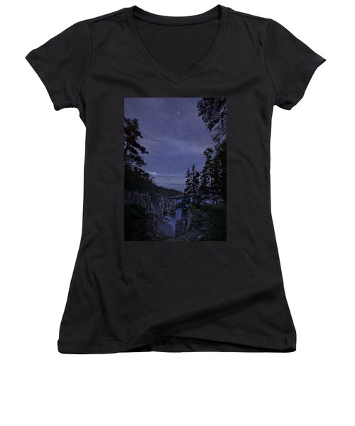 Stars Over Raven's Roost Women's V-Neck
