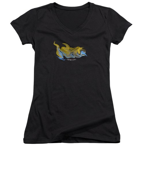 Stealthy Orchard Women's V-Neck T-Shirt