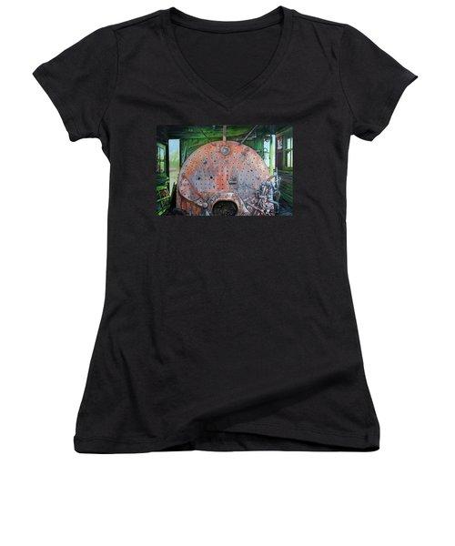 Steel Heart Women's V-Neck T-Shirt