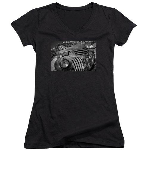 Steel Treasure Women's V-Neck T-Shirt