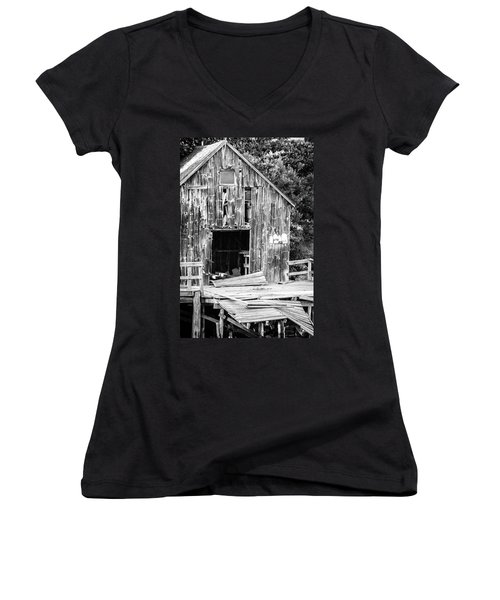 Still Standing Women's V-Neck T-Shirt