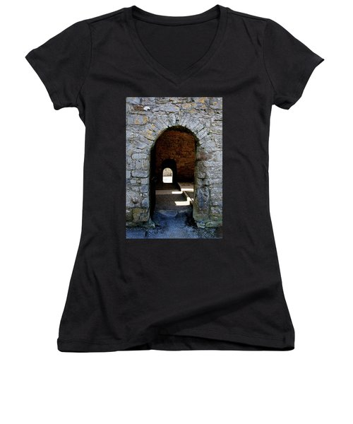 Stone Arch Women's V-Neck T-Shirt