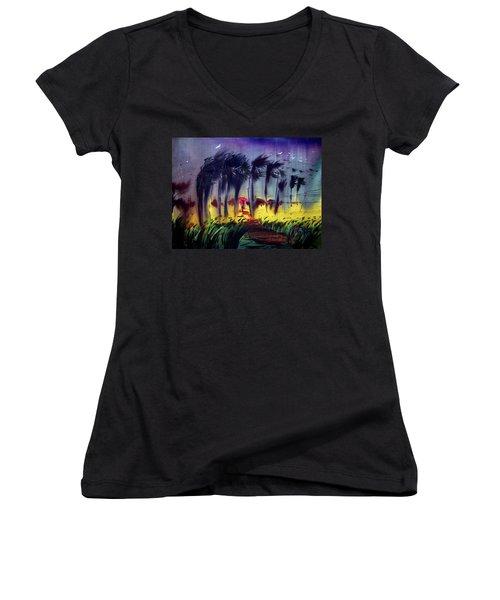 Storm Women's V-Neck T-Shirt