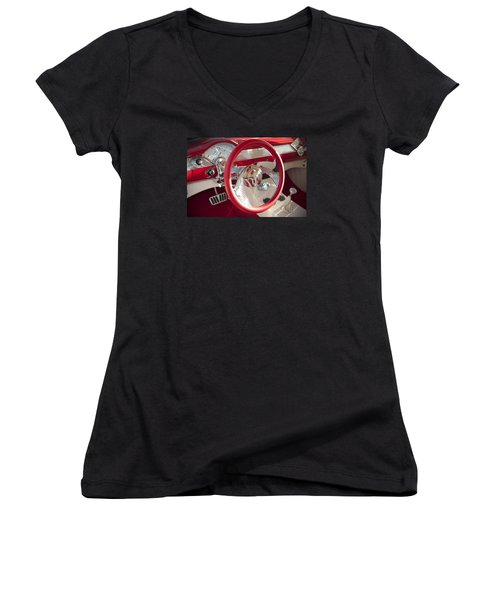 Strawberries And Creme Women's V-Neck