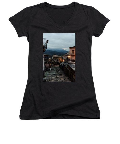 Streets Of Italy - Caramanico 3 Women's V-Neck
