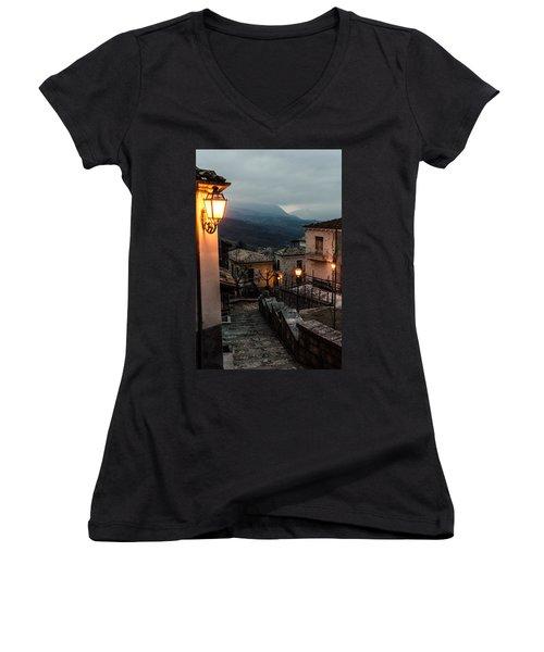 Streets Of Italy - Caramanico Women's V-Neck