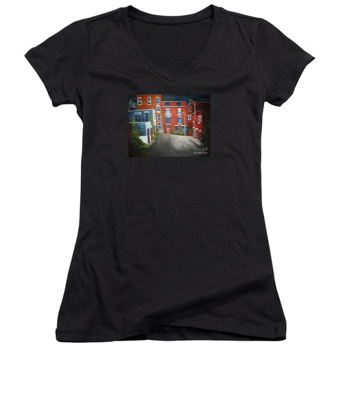 Streets Of Montreal  Joly Women's V-Neck