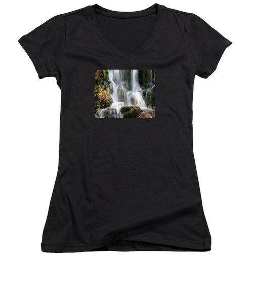 Summit Creek Waterfalls Women's V-Neck
